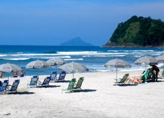 Praia de Camburí, São Sebastião - SP