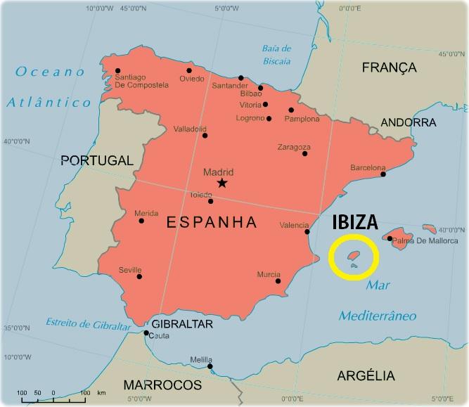 ibiza espanha mapa Onde Fica IBIZA?   Veja no Mapa (Fotos e Dicas Incríveis!) ibiza espanha mapa